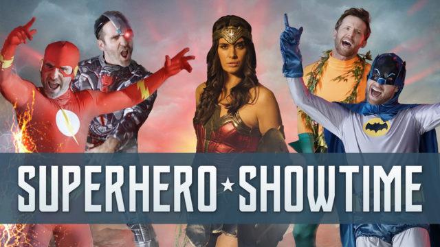 Superhero Showtime – Ben & Jensen